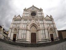 Святая перекрестная базилика, Флоренция стоковое изображение rf