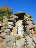 Святая статуя Mary, Литва Стоковые Фото