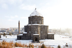 Святая церковь апостолов - мечеть Kumbet, Kars-Турция Стоковая Фотография