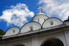 Святая церковь Transfiguration в Yaroslavl, России Стоковая Фотография RF