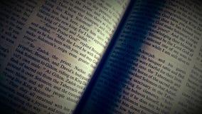 Святейшая библия Стоковое Фото