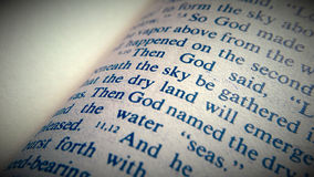 Святейшая библия Стоковая Фотография