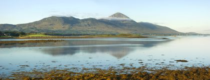 святейшая гора s Ирландии Стоковые Фото
