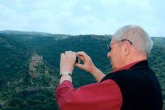 святейшая земля путешествием к стоковая фотография rf