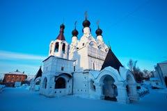 святейшая зима троицы России murom скита Стоковая Фотография