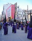 святейшая неделя semana santa шествия Стоковые Фотографии RF