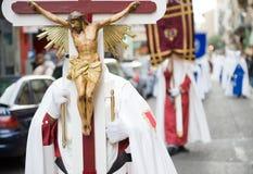 святейшая неделя Испании стоковые изображения