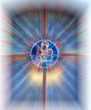 святейшее окно Стоковое Изображение