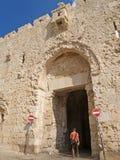 святейшие люди Израиля Иерусалима еврейские большая часть один люд устанавливают места священнейшие к голося стене Стена Dormitsi Стоковое Фото