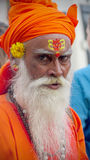 святейший индийский человек Стоковые Изображения RF