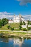 Святейший собор предположения Витебск, Беларусь Стоковое фото RF
