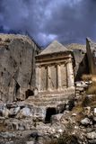 святейший туризм места Израиля Иерусалима Стоковое Изображение RF
