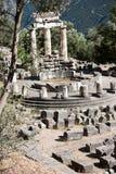 святилище Афины Стоковые Фото