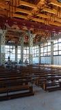 Святилище в Geres Португалии Стоковое фото RF