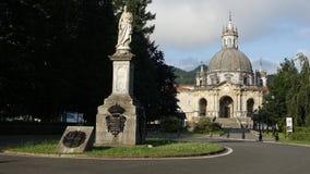 Святилище Loiola Испании стоковое изображение rf