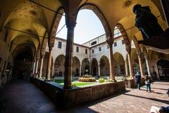 Святилище двора Святого Антонио от Padova Стоковая Фотография