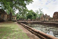 Святилище камня Prasat Mueang Tam (Prasat Mueang Tam) Стоковые Фото