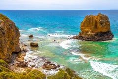 Святилище пункта орла морское, Виктория Австралия Стоковая Фотография
