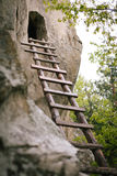 Святилище Dionisie - лестницы стоковая фотография rf