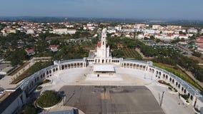 святилище fatima Португалии От выше акции видеоматериалы