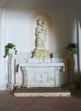Святилище Grotta della St Марии Прая конематка Стоковая Фотография