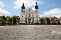 Святилище Kalwaria Zebrzydowska - Польши стоковое фото rf