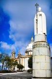 Святилище Sameiro в Браге стоковая фотография