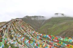Святое озеро на Тибете Стоковое фото RF