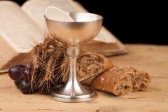 Святое причастие Chrystian стоковая фотография