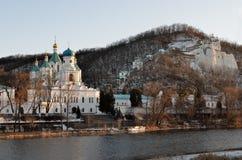 Святое Dormition Svyatogorsk Lavra Стоковое Изображение RF