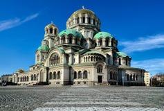 Святой Александр Nevsky стоковые фото