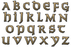 Святой алфавита Scrapbook цифров Стоковые Фото