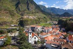 Святой Винсент, Мадейра, Португалия, São Vicente Стоковая Фотография