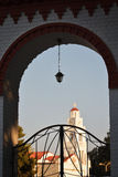 Святой висок в Родосе Стоковое Изображение