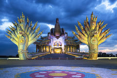 Святой висок святилища Стоковое Изображение