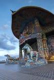 Святой висок святилища Стоковая Фотография