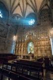 Святой Грааль внутри бортовой часовни собора Валенсии стоковое изображение rf