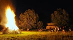 святой демикотона пожара Стоковое Изображение RF