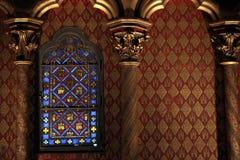 святой детали chapelle стоковые фото
