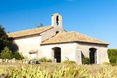 Святой Джин часовни, Régusse, Провансаль, Франция стоковое фото rf