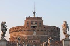святой замока ангела стоковая фотография rf
