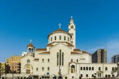 Святой Илья и St Gregory католик иллюминатора армянский Стоковая Фотография