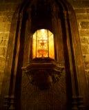 Святой кубок собора St Mary столичного в Валенсии стоковое изображение