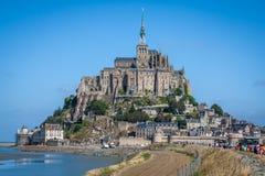 Святой Мишель - Нормандия - Франция Mont стоковое изображение rf