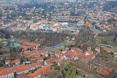 Святой Мишель d Aiguilhe, en Valay Le Puy Стоковые Фото