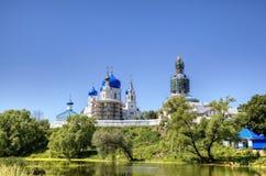 Святой монастырь Bogolyubovo стоковое фото rf