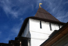 Святой монастырь Transfiguration в Yaroslavl, России Стоковая Фотография RF