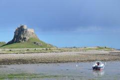 Святой остров Lindesfarne Стоковые Изображения RF