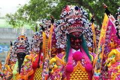 Святой парад генералов стоковое изображение