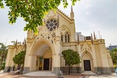 Святой перекрестный собор Лагос Нигерия стоковые фото